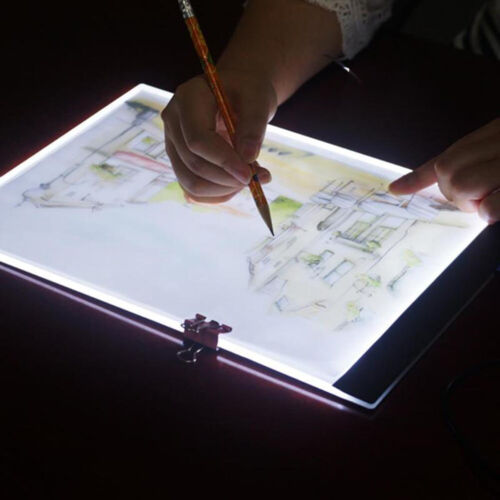 A5 led drawing tablet thin art stencil drawing board light box tracing tablPLCA