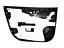 miniatura 9 - Jaguar-I-Passo-X590-Guida-a-Sinistra-Anteriore-Dx-Interno-Porta-Carta-Modanatura