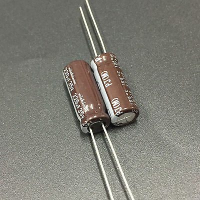 10pcs 220uF 35V 10x12.5mm Nichicon PW Low Impedance Long Life Capacitor