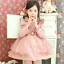 Girls-Double-Breasted-Ruffle-Trench-Coat-Long-Sleeve-Lace-Princess-Jacket-Dress thumbnail 12