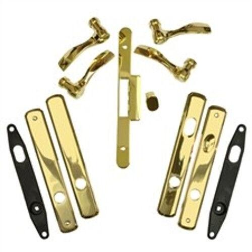 Andersen puerta Hardwar Newbury estilo doble activo con bisagras en Latón Brillante