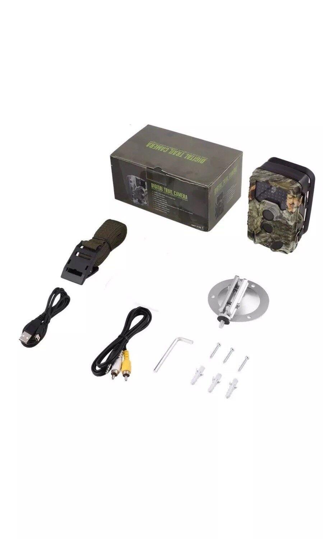 Digital Trail Game Camera IP56 Waterproof 12MP 1080P Hunting Camera