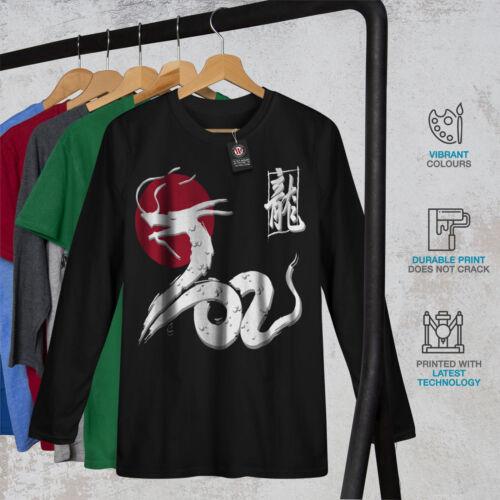 Japan Dragon Women Long Sleeve T-shirt NEWWellcoda