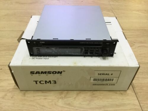 Samson TM3 FM Tuner CD and MP3 Module for ZM75 and ZM125