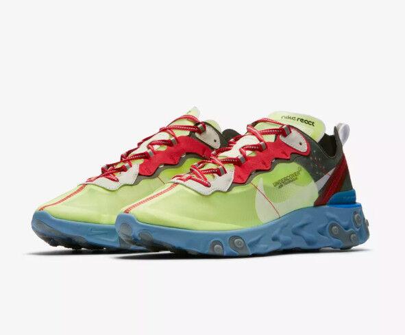 UNDERCOVER x Nike React Element 87 87 87 BQ2718-700 US 8.5 JAPAN NikeLab import f97363