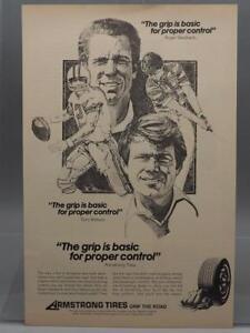 Vintage-Publicite-de-magazine-Imprime-Publicite-Armstrong-pneus