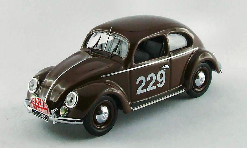 Volkswagen VW Coccinelle  229 52th Monte Carlo 1952 Nathan-Schellhaas 1:43 Model
