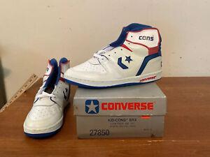NOS Vtg 80s Converse Kid-Cons ERX