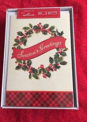 Hallmark Christmas Cards.Seasons From Hallmark Christmas Cards Holiday Boxed Cards Seasons Greetings Ebay