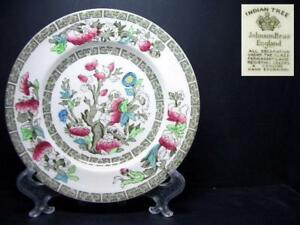 BEAUTIFUL-JOHNSON-BROS-INDIAN-TREE-BREAD-PLATE-5