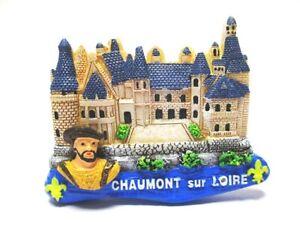 Chaumont-Sur-Loire-Iman-Poliresina-Recuerdo-Francia-Nuevo-Candado