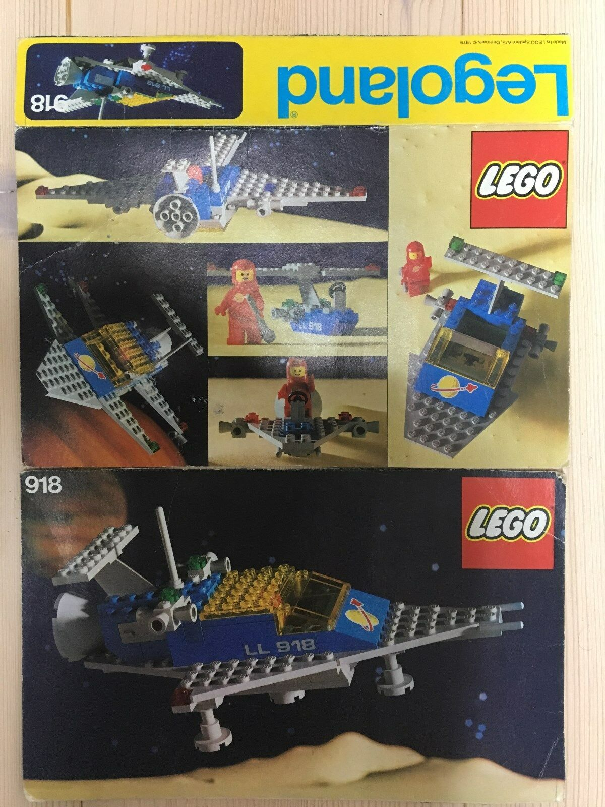 LEGO Set 918 Space Cruiser ohne BA