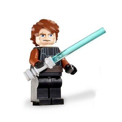 LEGO Star Wars MiniFigure - Anakin Skywalker (Clone Wars) w/ LightSaber!