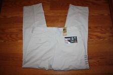 NWT Mens DOCKERS Comfort Khaki Classic Fit Flat Front Pants 36 W 29 L