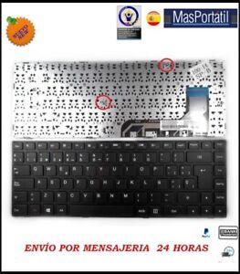 Tastiera-Spagnolo-Nuovo-Portatile-Lenovo-Ideapad-9Z-NCMSN-01E-TEC34