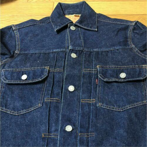 Vintage 1950's Levis 507XX Denim Jacket Second Typ