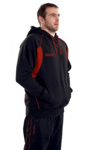Kooga Teamwear Adults Black//Red Hoody