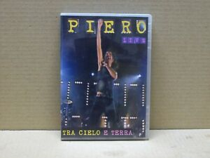 PIERO PELU - LIVE - TRA CIELO E TERRA - DVD - NUOVO 2004