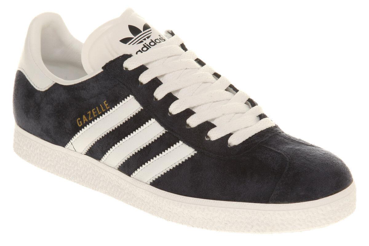 Mens Adidas Gazelle Grey Gray White Men's Sneakers Retro NIB 4.5