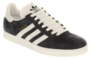 Mens Adidas Gazelle Grey Gray White Men's Sneakers Retro NIB 4.5