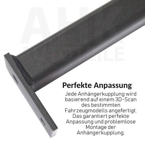 Für Opel Zafira B auch Family 05-14 mit REC Anhängerkupplung starr+E-Satz 13sp