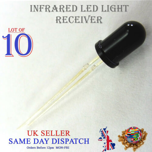 10x 5mm Infrared LED Lamp IR High Power 940nm Receiver BPV10NF