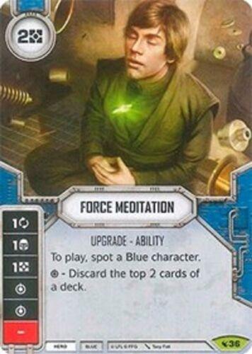SW Destiny LEGACIES NM Force Meditation Rare w// DICE #36