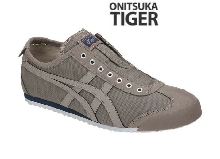 Asics Onitsuka Tiger Mexico 66 Slip-On MOON ROCK Fashion Sneakers,shoes