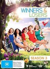 WINNERS & LOSERS  - COMPLETE SEASON 3  - DVD - UK Compatible sealed