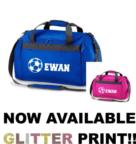 Personalised Name Football Sports Holdall Bag School Soccer Club PE Gym