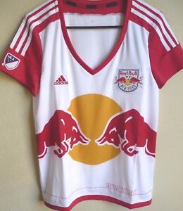 1d191002e9b Women's MLS Adidas New York Red Bulls Replica Primary Soccer Jersey ...