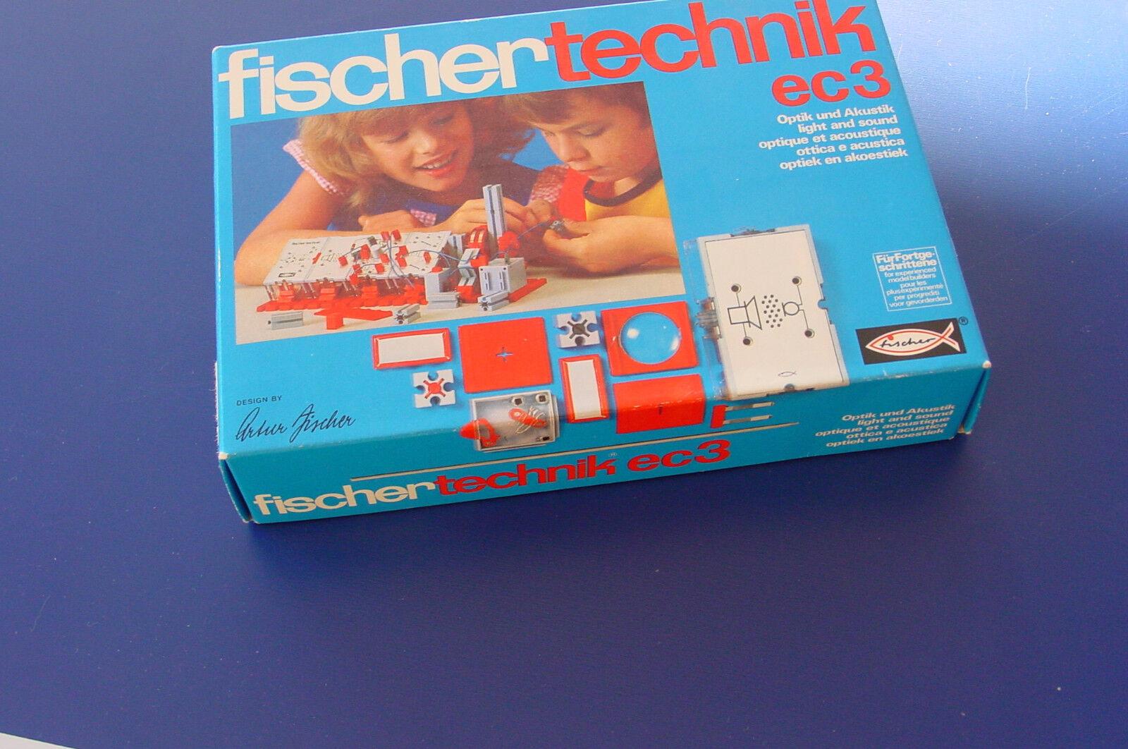 Fischertechnik - Elektronik ec3 -- Unbespielt