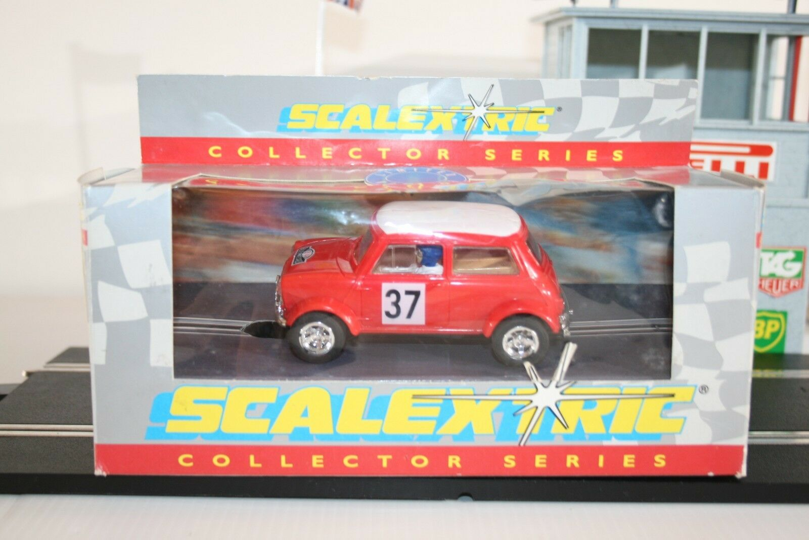 SCALEXTRIC NOS COLLECTORS SERIES MINI COOPER MONTE CARLO BY HORNBY