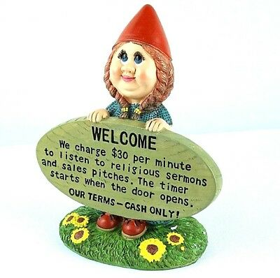 Lawn And Garden Gnome Statue Figurine