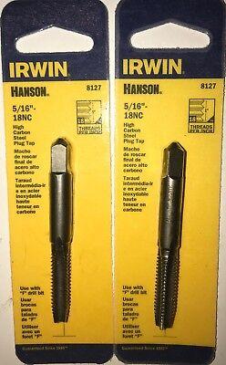 Irwin 8120 Hanson 1//4-20 NC Thread HCS Plug Tap