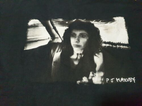 Rare vintage 90s   PJ Harvey T shirt  Nick Cave Bj