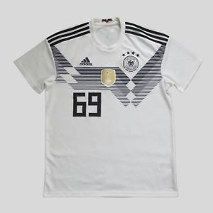 Germany Jersey 2018 Home Size L Shirt Mens BR7843 Football Trikot Adidas