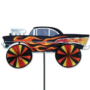Hot-Rod-28-034-Chevy-Replica-Staked-Wind-Spinner-Pole-Ground-Mount-27-PR-25675