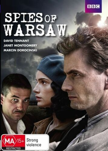 1 of 1 - Spies Of Warsaw (DVD, 2014) New Genuine & Unsealed (D181)