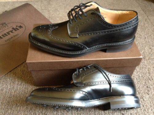 Grafton Gr11 Nero Chaussure F Brogue Church's Lucido Cuir Binder v80NmwnO