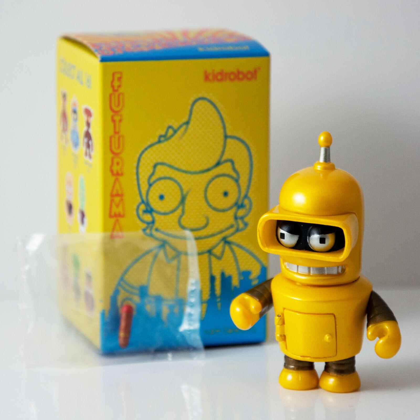 Gold Bender - Futurama Universe X Vinyl Mini Series by Kidrobot Brand New