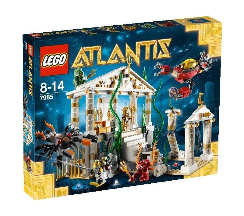 LEGO Atlantis Tempel von  (7985)