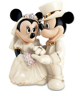 Image Is Loading Lenox Disney Mickey Minnie 039 S Dream Wedding