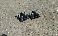 Set Of 2 Disc Hiller Brackets For 2 X 2 Tool Bar Garden Bedder