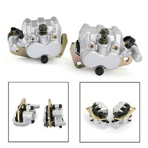 L-amp-R-Front-Brake-Caliper-Set-For-Yamaha-YXR660FA-Rhino-660-04-07-Hunter-06-07