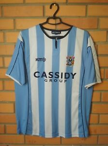 Image is loading Coventry-City-2005-2006-Home-jersey-soccer-Kit- 9cd11f0efe46