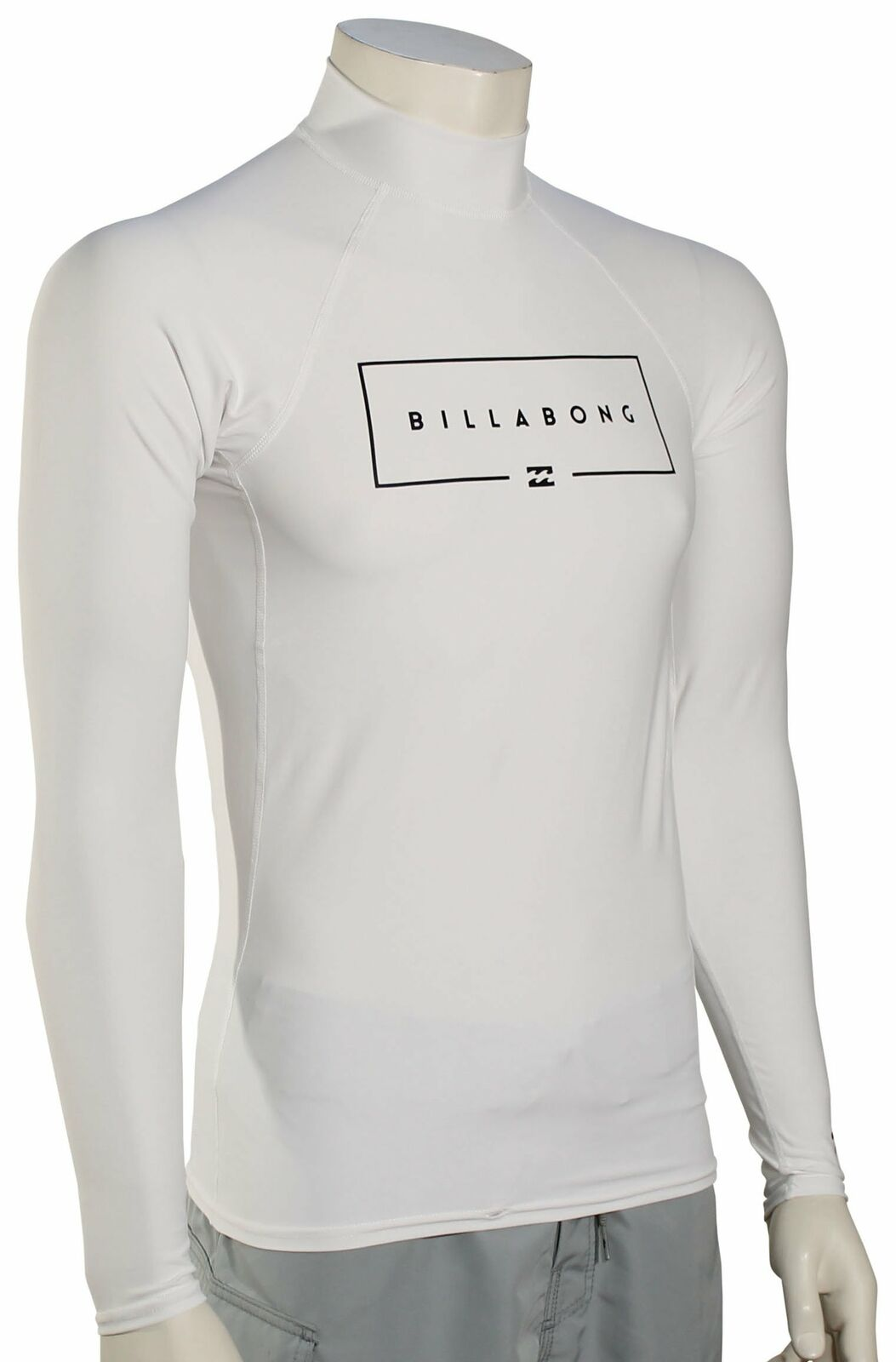 Billabong Union  Wave LS Rash Guard - White - New  welcome to buy