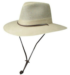 ad364f373 Details about DORFMAN PACIFIC HAT * XXL * NEW MEN SUN SHADY VENTED BREEZER  SAFARI OUTBACK UPF