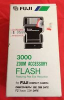 Fuji 3000 Zoom Accessory Flash Compact Camera Discovery For-3000 Date E
