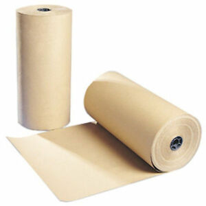 20m  x 750mm STRONG BROWN KRAFT WRAPPING PAPER roll Thick quality packaging